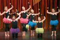 Colourful tutus