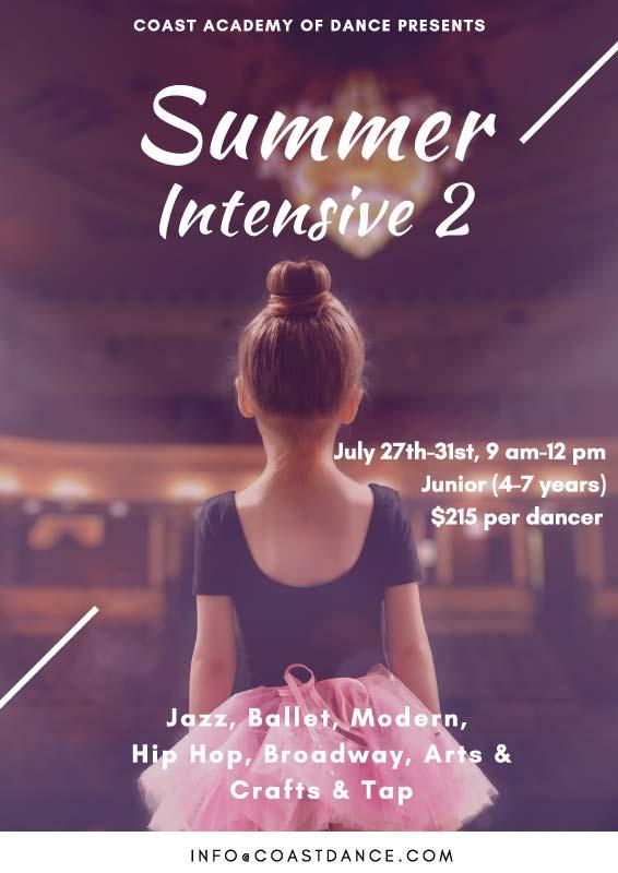 Summer Intensive 2